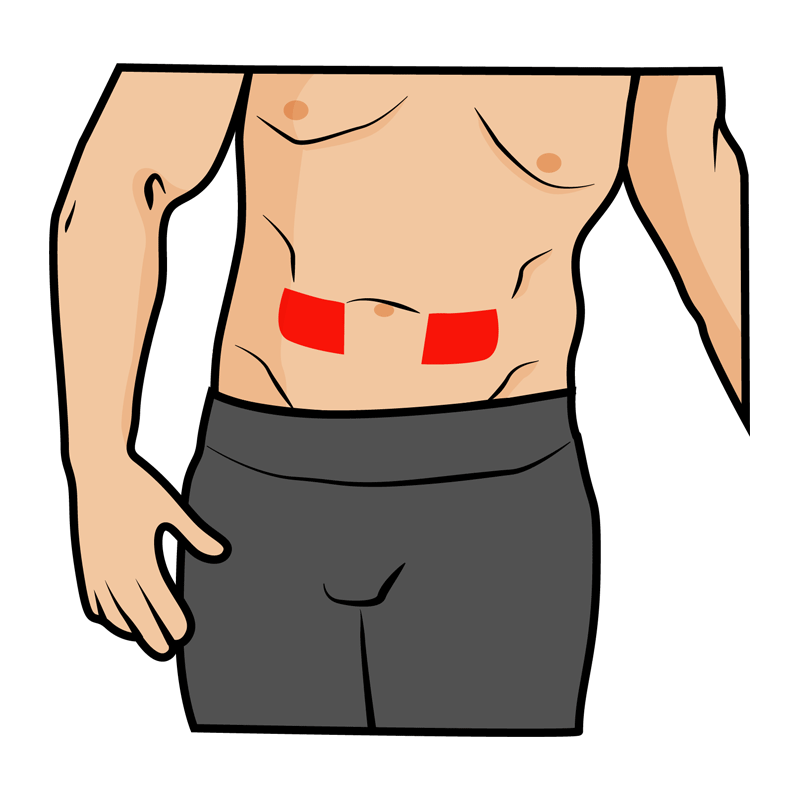IPEDs - subcutaneous injection into lower abdominal area